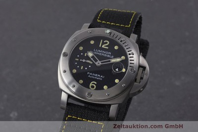 PANERAI LUMINOR SUBMERSIBLE TITANIO AUTOMÁTICO KAL. 7750P1 ETA A0511 LP: 6600EUR [162220]