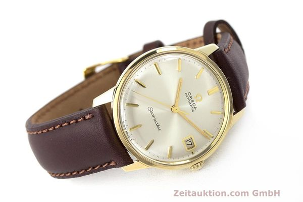 Used luxury watch Omega Seamaster 14 ct yellow gold automatic Kal. 562 Ref. 166.001 VINTAGE  | 162223 03