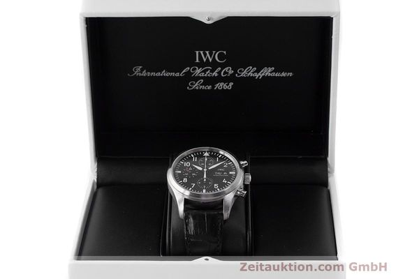 Used luxury watch IWC Fliegeruhr chronograph steel automatic Kal. 79320 Ref. 371704  | 162230 07
