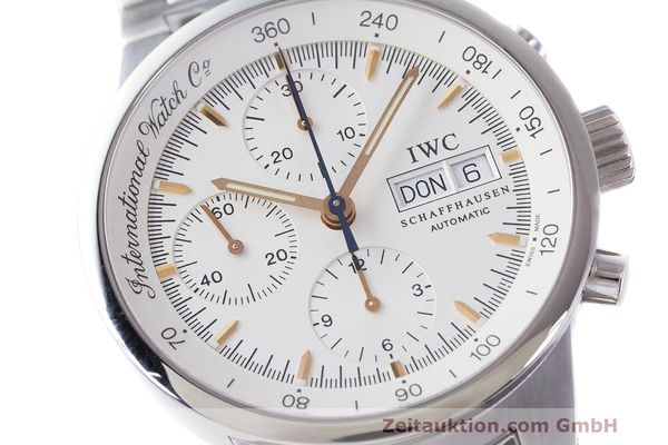 Used luxury watch IWC GST chronograph steel automatic Kal. 7922 Ref. 3707  | 162237 02