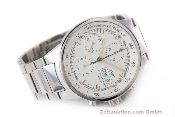 Used luxury watch IWC GST chronograph steel automatic Kal. 7922 Ref. 3707  | 162237 03