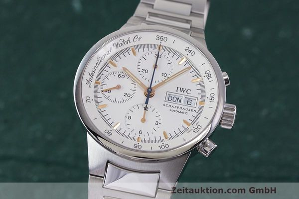 Used luxury watch IWC GST chronograph steel automatic Kal. 7922 Ref. 3707  | 162237 04