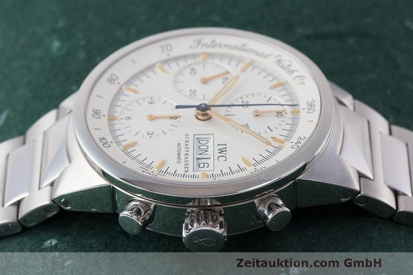 Used luxury watch IWC GST chronograph steel automatic Kal. 7922 Ref. 3707  | 162237 05