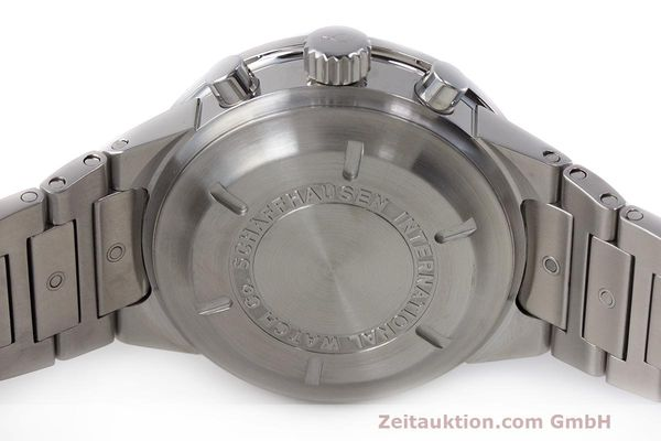 Used luxury watch IWC GST chronograph steel automatic Kal. 7922 Ref. 3707  | 162237 09