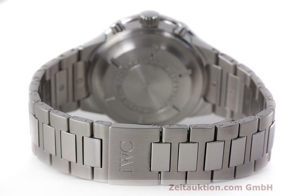 Used luxury watch IWC GST chronograph steel automatic Kal. 7922 Ref. 3707  | 162237 13