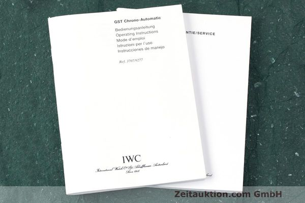 Used luxury watch IWC GST chronograph steel automatic Kal. 7922 Ref. 3707  | 162237 15