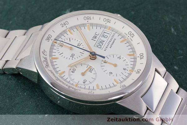 Used luxury watch IWC GST chronograph steel automatic Kal. 7922 Ref. 3707  | 162237 19