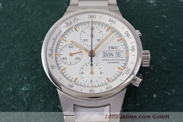 Used luxury watch IWC GST chronograph steel automatic Kal. 7922 Ref. 3707  | 162237 20