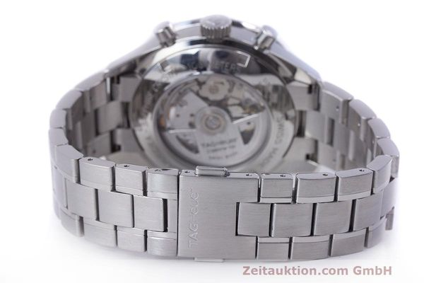 Used luxury watch Tag Heuer Carrera chronograph steel automatic Kal. 16 ETA 7750 Ref. CV2015-3  | 162250 11