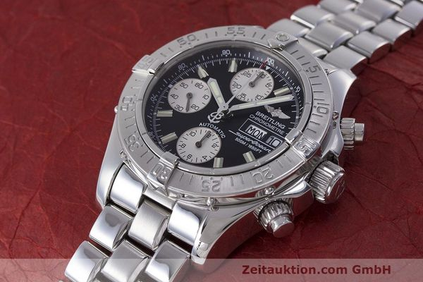 Used luxury watch Breitling Superocean Chronograph chronograph steel automatic Kal. B13 ETA 7750 Ref. A13340  | 162251 01