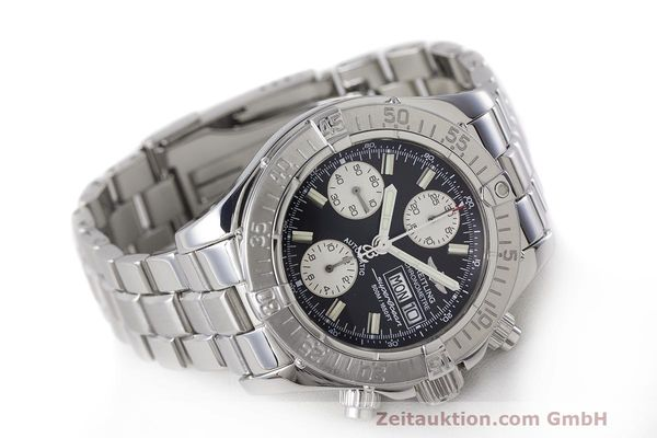 Used luxury watch Breitling Superocean Chronograph chronograph steel automatic Kal. B13 ETA 7750 Ref. A13340  | 162251 03