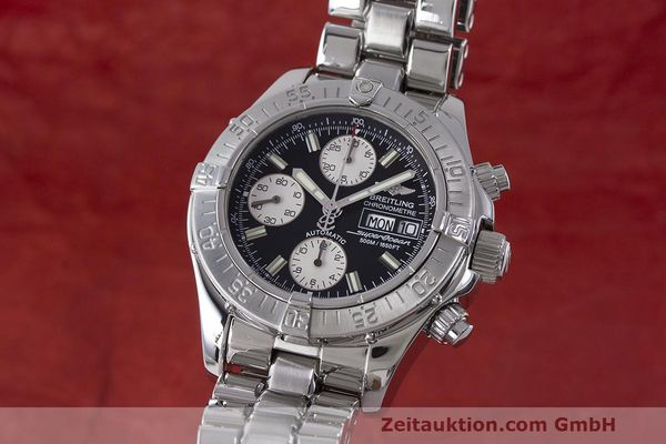 Used luxury watch Breitling Superocean Chronograph chronograph steel automatic Kal. B13 ETA 7750 Ref. A13340  | 162251 04