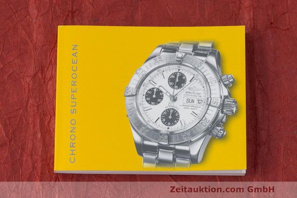 Used luxury watch Breitling Superocean Chronograph chronograph steel automatic Kal. B13 ETA 7750 Ref. A13340  | 162251 13