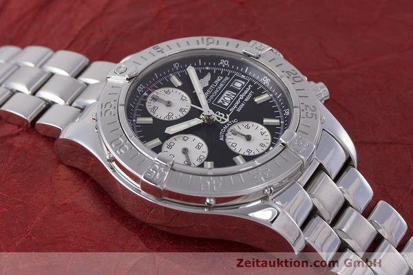 Used luxury watch Breitling Superocean Chronograph chronograph steel automatic Kal. B13 ETA 7750 Ref. A13340  | 162251 17