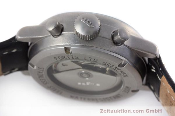 Used luxury watch Fortis Flieger Chronograph chronograph steel automatic Kal. ETA 7750 Ref. 597.10.141  | 162257 08