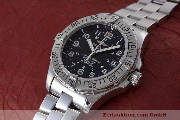 Used luxury watch Breitling Superocean steel automatic Kal. B17 ETA 2824-2 Ref. A17360  | 162260 01