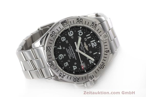 Used luxury watch Breitling Superocean steel automatic Kal. B17 ETA 2824-2 Ref. A17360  | 162260 03