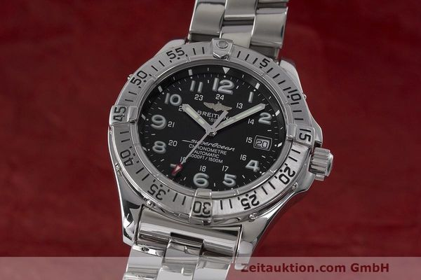 Used luxury watch Breitling Superocean steel automatic Kal. B17 ETA 2824-2 Ref. A17360  | 162260 04
