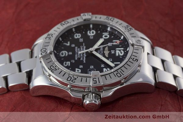 Used luxury watch Breitling Superocean steel automatic Kal. B17 ETA 2824-2 Ref. A17360  | 162260 05