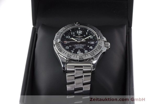 Used luxury watch Breitling Superocean steel automatic Kal. B17 ETA 2824-2 Ref. A17360  | 162260 07