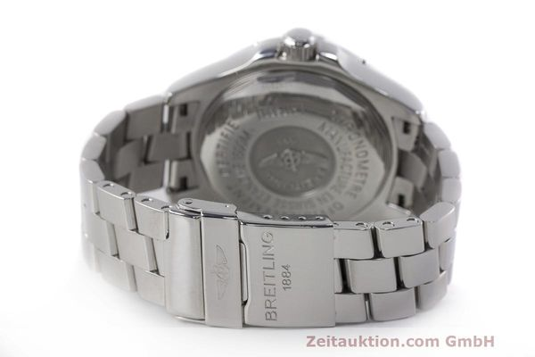 Used luxury watch Breitling Superocean steel automatic Kal. B17 ETA 2824-2 Ref. A17360  | 162260 11