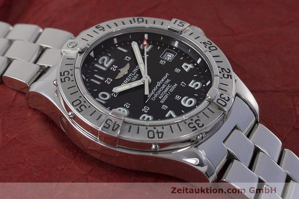 Used luxury watch Breitling Superocean steel automatic Kal. B17 ETA 2824-2 Ref. A17360  | 162260 13