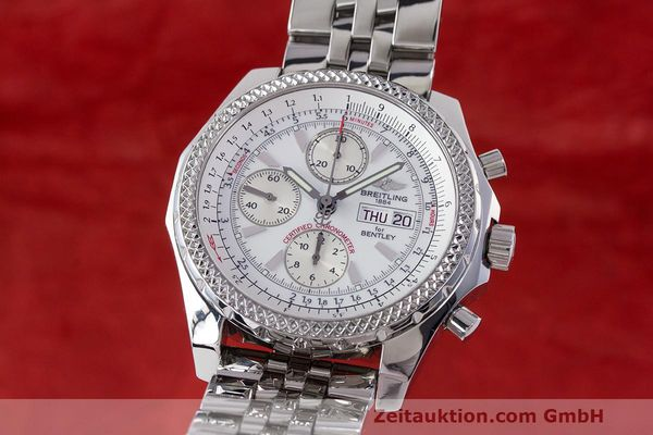 BREITLING BENTLEY CHRONOGRAPHE ACIER AUTOMATIQUE KAL. B13 ETA 7750 LP: 9020EUR [162261]