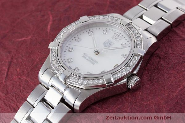 Used luxury watch Tag Heuer Aquaracer steel quartz Kal. ETA F06111 Ref. WAF1313  | 162270 01