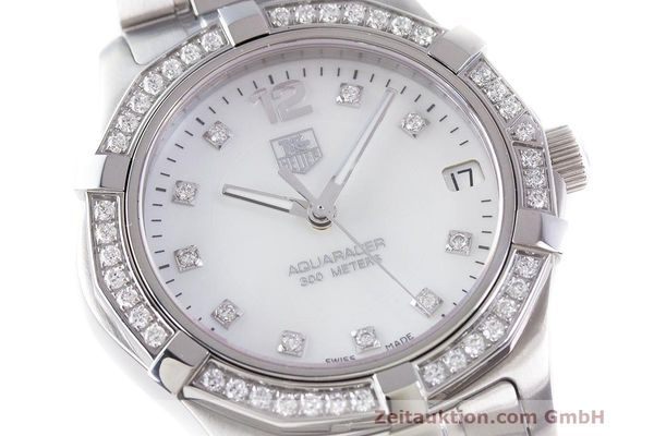 Used luxury watch Tag Heuer Aquaracer steel quartz Kal. ETA F06111 Ref. WAF1313  | 162270 02