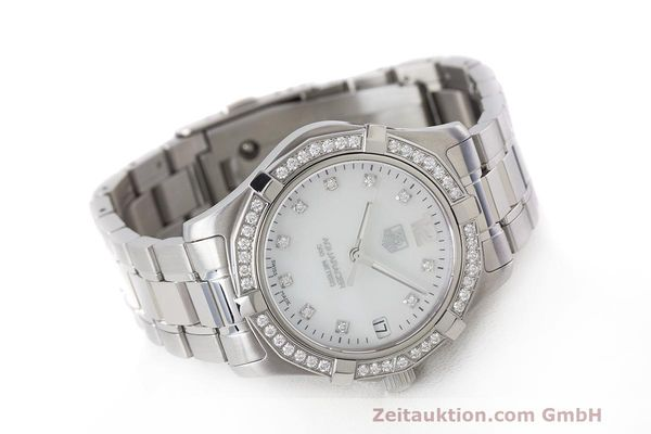 Used luxury watch Tag Heuer Aquaracer steel quartz Kal. ETA F06111 Ref. WAF1313  | 162270 03