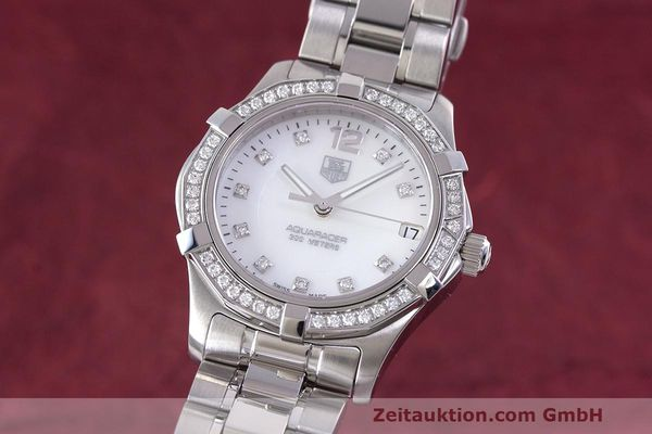 Used luxury watch Tag Heuer Aquaracer steel quartz Kal. ETA F06111 Ref. WAF1313  | 162270 04