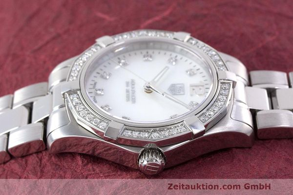 Used luxury watch Tag Heuer Aquaracer steel quartz Kal. ETA F06111 Ref. WAF1313  | 162270 05