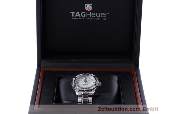 Used luxury watch Tag Heuer Aquaracer steel quartz Kal. ETA F06111 Ref. WAF1313  | 162270 07