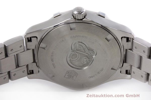 Used luxury watch Tag Heuer Aquaracer steel quartz Kal. ETA F06111 Ref. WAF1313  | 162270 09