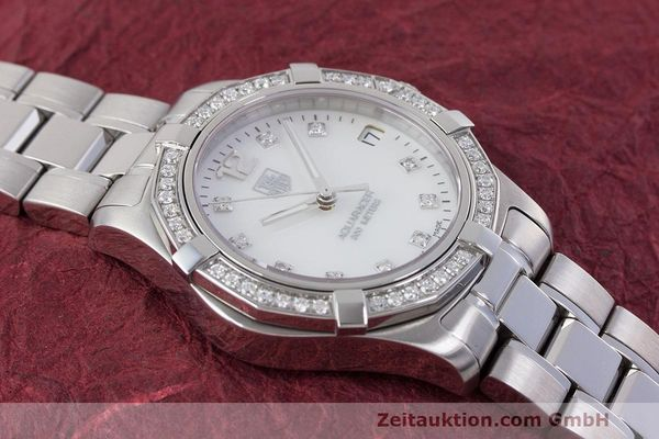 Used luxury watch Tag Heuer Aquaracer steel quartz Kal. ETA F06111 Ref. WAF1313  | 162270 15