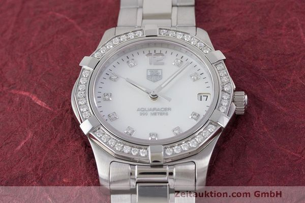 Used luxury watch Tag Heuer Aquaracer steel quartz Kal. ETA F06111 Ref. WAF1313  | 162270 16