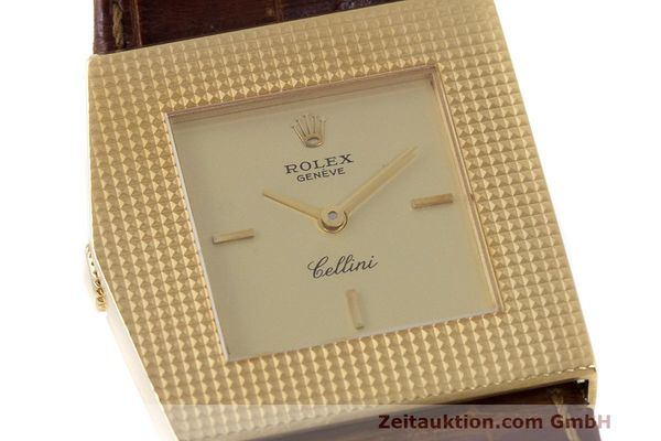 Used luxury watch Rolex Cellini 18 ct gold manual winding Kal. 1601 Ref. 4126 VINTAGE  | 162271 02
