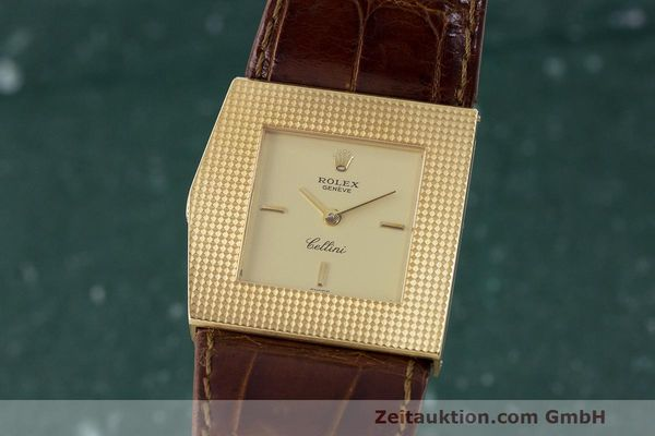 Used luxury watch Rolex Cellini 18 ct gold manual winding Kal. 1601 Ref. 4126 VINTAGE  | 162271 04