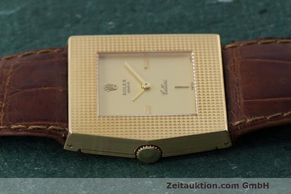 Used luxury watch Rolex Cellini 18 ct gold manual winding Kal. 1601 Ref. 4126 VINTAGE  | 162271 05