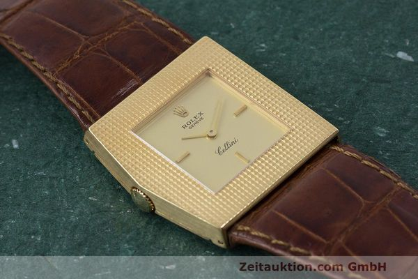 Used luxury watch Rolex Cellini 18 ct gold manual winding Kal. 1601 Ref. 4126 VINTAGE  | 162271 14