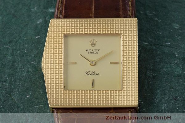 Used luxury watch Rolex Cellini 18 ct gold manual winding Kal. 1601 Ref. 4126 VINTAGE  | 162271 15
