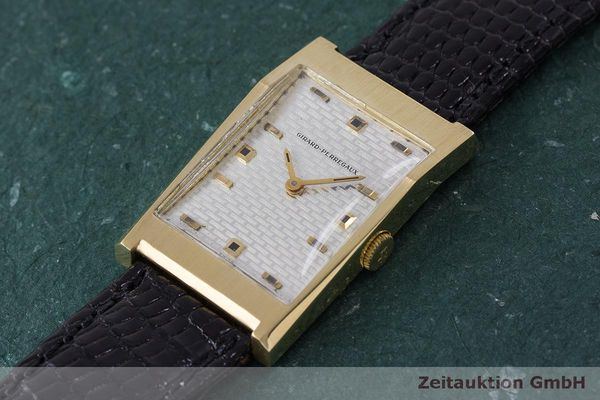 Used luxury watch Girard Perregaux * 18 ct gold manual winding VINTAGE  | 162279 01