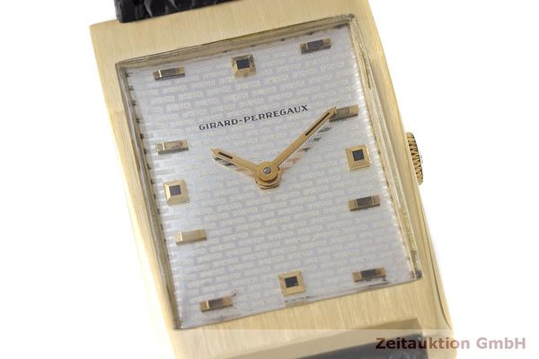 Used luxury watch Girard Perregaux * 18 ct gold manual winding VINTAGE  | 162279 02