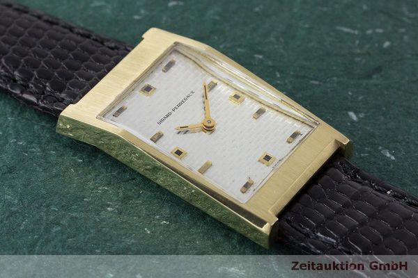 Used luxury watch Girard Perregaux * 18 ct gold manual winding VINTAGE  | 162279 13