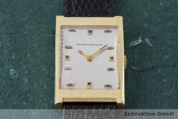 Used luxury watch Girard Perregaux * 18 ct gold manual winding VINTAGE  | 162279 14
