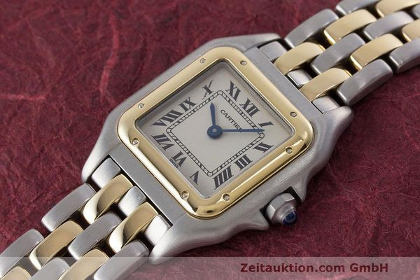Used luxury watch Cartier Panthere steel / gold quartz Kal. 157  | 162280 01