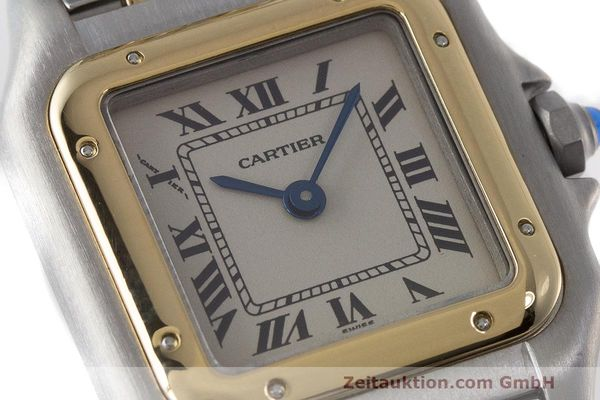 Used luxury watch Cartier Panthere steel / gold quartz Kal. 157  | 162280 02