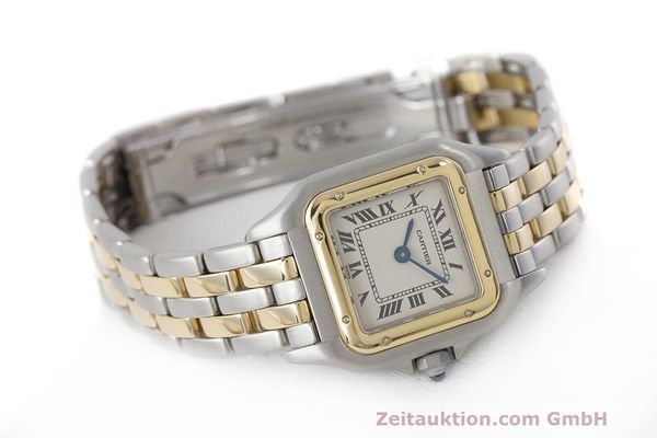 Used luxury watch Cartier Panthere steel / gold quartz Kal. 157  | 162280 03
