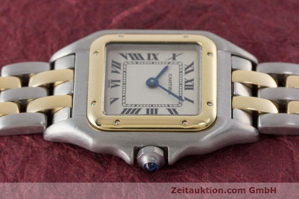 Used luxury watch Cartier Panthere steel / gold quartz Kal. 157  | 162280 05