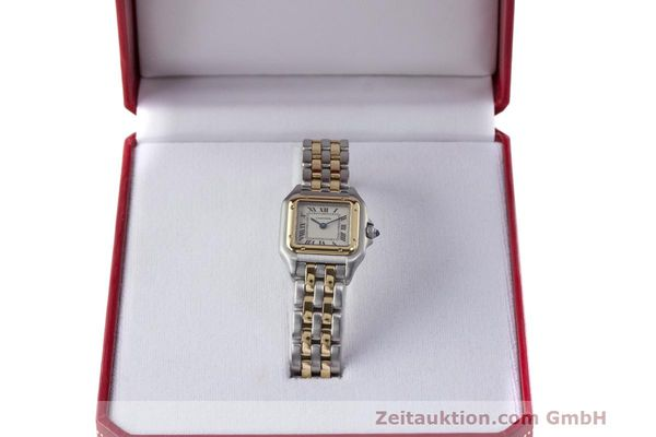 Used luxury watch Cartier Panthere steel / gold quartz Kal. 157  | 162280 07